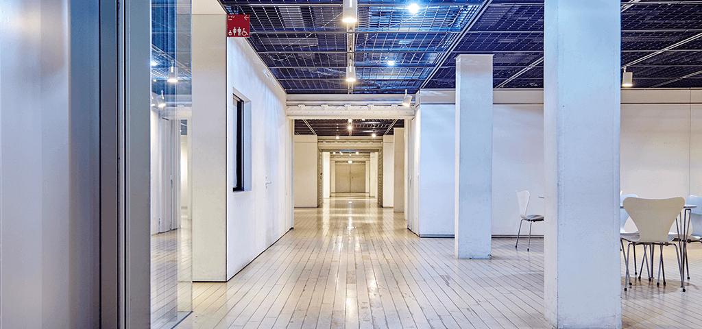 横浜赤レンガ倉庫1号館のスペース