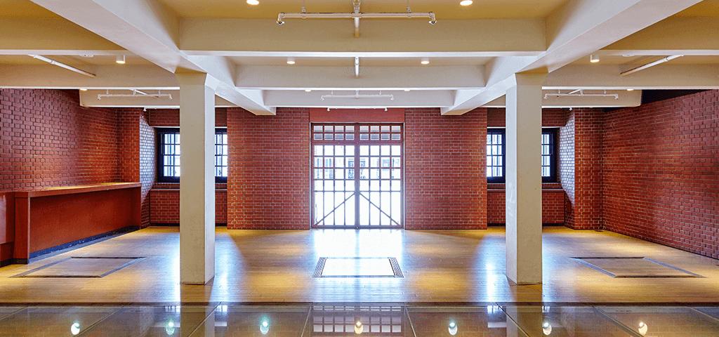 横浜赤レンガ倉庫1号館のスポット
